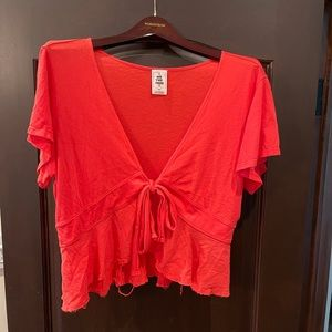 We The Free Cropped Top…Size medium